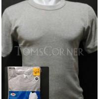 Jual Kaos Dalam / T-Shirt / Kaos Oblong Pria Rider Abu / Pakaian / Baju Gym Murah