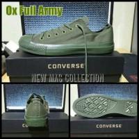 SEPATU CONVERSE CLASSIC LOW FULL ARMY PREMIUM QUALITY