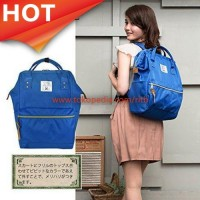 Tas Ransel Anello Handle Backpack Campus Rucksack L Size - Light Blue