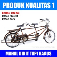 harga Miniatur Sepeda Tandem Kualitas 1 - Bukan KW Tokopedia.com