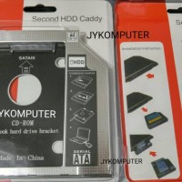HDD Caddy Second HDD HD SSD Caddy untuk Laptop