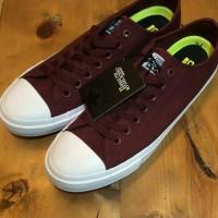 Sepatu Converse Chuck Tailor CT/OP Merah Maron Cewek Cowok Keren
