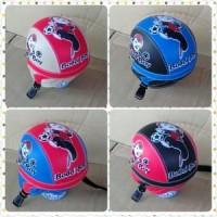 harga helm retro  anak motif  boy boy / helm sepeda Tokopedia.com