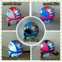 harga helm retro bogo anak motif doraemon/ helm sepeda Tokopedia.com