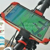 Phone HP Holder / handlebar mount holder / pegangan hp sepeda/motor