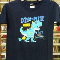 kaos anak dinosaurus T-rex cotton murah