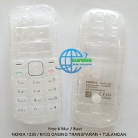 NOKIA 1280/N103 CASING TRANSPARAN + TULANGAN