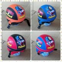 helm retro   anak motif  thomas/ helm sepeda
