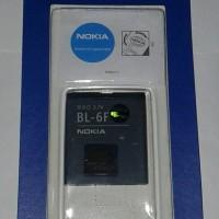 Baterai/Batre/battery nokia BL-6F N78,N95/BL6P