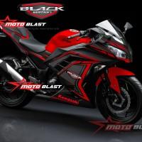 Ninja 250R Fi - Black Edition Super Carbon