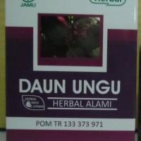 Obat Herbal Wasir,Ambeien,Hemoroid,Kapsul Daun Ungu Herbal Alami