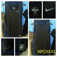 Nike Pro Combat Baju Ketat Versi 1