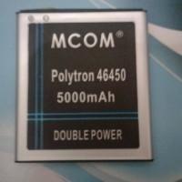 baterai polytron zap5 zap 5 4G450 PL-6R5C double power merk mcom