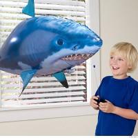 Air Swimmer Remote Control Flying Fish Mainan Anak RC