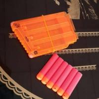 harga Nerf Clip 6 Mega + Dart/Peluru Tokopedia.com