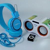 Speaker Murottal Al Qur'an FREE Headset Advan + MP3 Votre