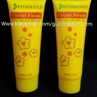 Jual Esther facial foam tube gold BPOM / ester sabun tube gold / sabun muka Murah