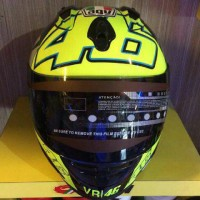 helm fuel face agv rossi