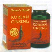 NATURE'S HEALTH KOREAN GINSENG 100'S, STRESS, GAIRAH SEKSUAL, STAMINA