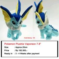 harga Pokemon Plush Vaporeon (154) Tokopedia.com