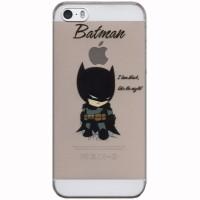 iBuy Ultra Thin Batman Cute Hard Case Iphone 5, 5s & 5 Se Casing