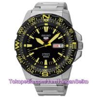 Jam Tangan Seiko 5 SRP545K1 Sports Mini Monster Silver Black Yellow
