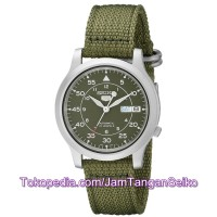 Jam Tangan Seiko 5 SNK805K2 Green Silver