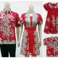 Jual batik sarimbit keluarga dress Murah