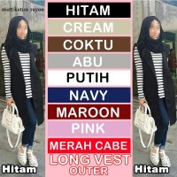 Jual LONG VEST OUTER Murah
