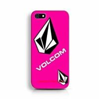 Volcom Pink Wallpaper iPhone 5/5S Custom Hard Case