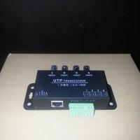 Video Balun 4ch Passive Utp Transceiver