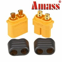 Amass XT60+ Plug Connector With Sheath Housing Male Female Pair XT60