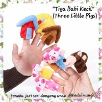Boneka Jari: Three Little Pigs