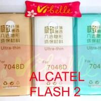 Ultrathin Softcase Alcatel Flash 2 / ultra thin soft case jely Flash 2