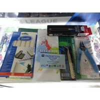 Starter pack set amplas for building gundam & model kit custom gunpla