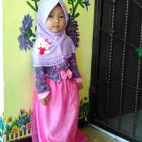 Gamis anak Jersey tile