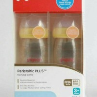 Pigeon Peristaltic Bottle Plus PPSU 240 ml (Promo isi 2)