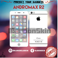 harga Garskin Smartfren Andromax r2 Iphone white s6 2 Tokopedia.com