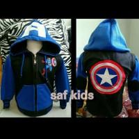 Jual Jaket Anak Kapten Amerika (Captain America) Murah