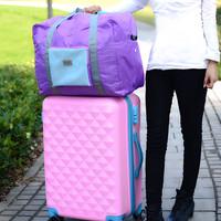tas koper korea travel piknik 2rd Hand laugage Bag besar lipat jumbo