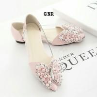 harga flatshoes butterfly mutiara/pasangan tas pesta/satchel/clutch Tokopedia.com
