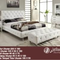 Set Kamar Tidur Modern Jok Putih