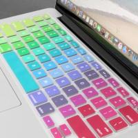 Macbook Air/Pro Rainbow Keyboard Skin 11/13/15/17 inch