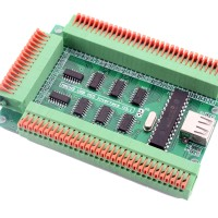 USB HID Interface MUHI Card Board For Linux EMC Mach3 PC Via BUS AP25