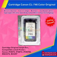 Cartridge Canon CL746 Color, Printer MG2470 MG2570 IP2870 Original