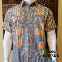 Hem Batik Doby Furing, Motif Seno Kupu Kawung Batik Pekalongan