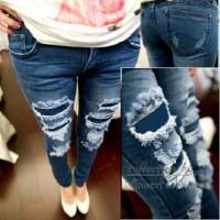 Jual Ripped Jeans Lapisan Murah