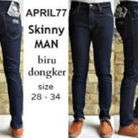 Celana Skinny / Slimfit April 77 Blue Garment