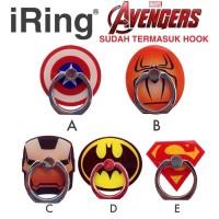 iRing i--Ring Stand HP Avengers (Captain Americam Spiderman, dll)