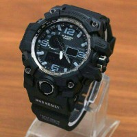 JAM TANGAN G-SHOCK GPW 100 DOUBLE TIME MURAH BANDUNG WARNA BLACK